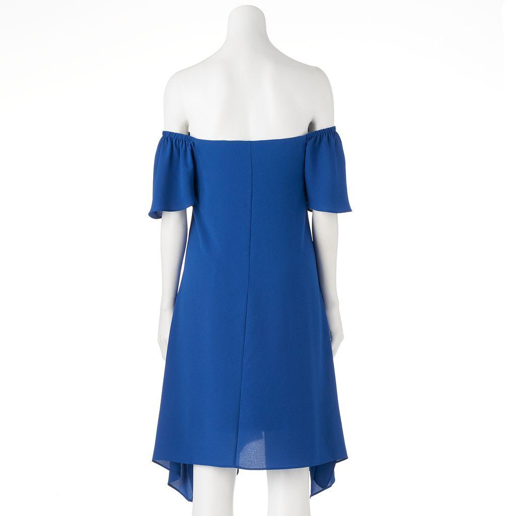 Women's Bethany Off-the-Shoulder Shift Dress