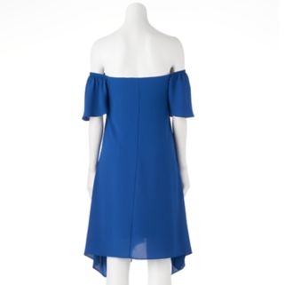 Women's Bethany Off-the-Shoulder Shift Dress