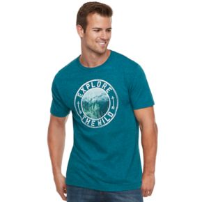 """Men's SONOMA Goods for Life™ """"Never Stop Exploring"""" Tee"""