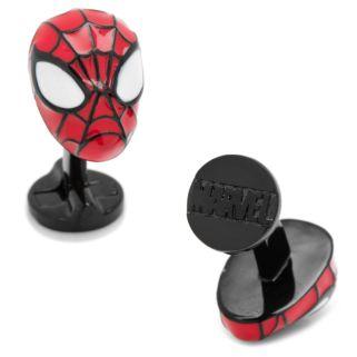 Marvel 3D Spider-Man Mask Cuff Links