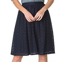 Women's Chaps Lace Skirt