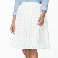 Women's Chaps Lace Skirt