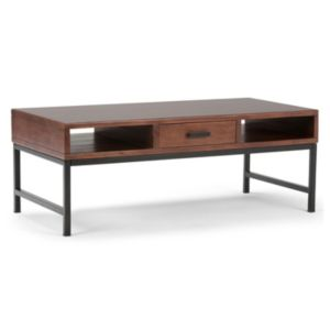 Simpli Home Riordan 1-Drawer Coffee Table