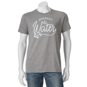 """Men's SONOMA Goods for Life™ """"Whiskey and Water"""" Tee"""