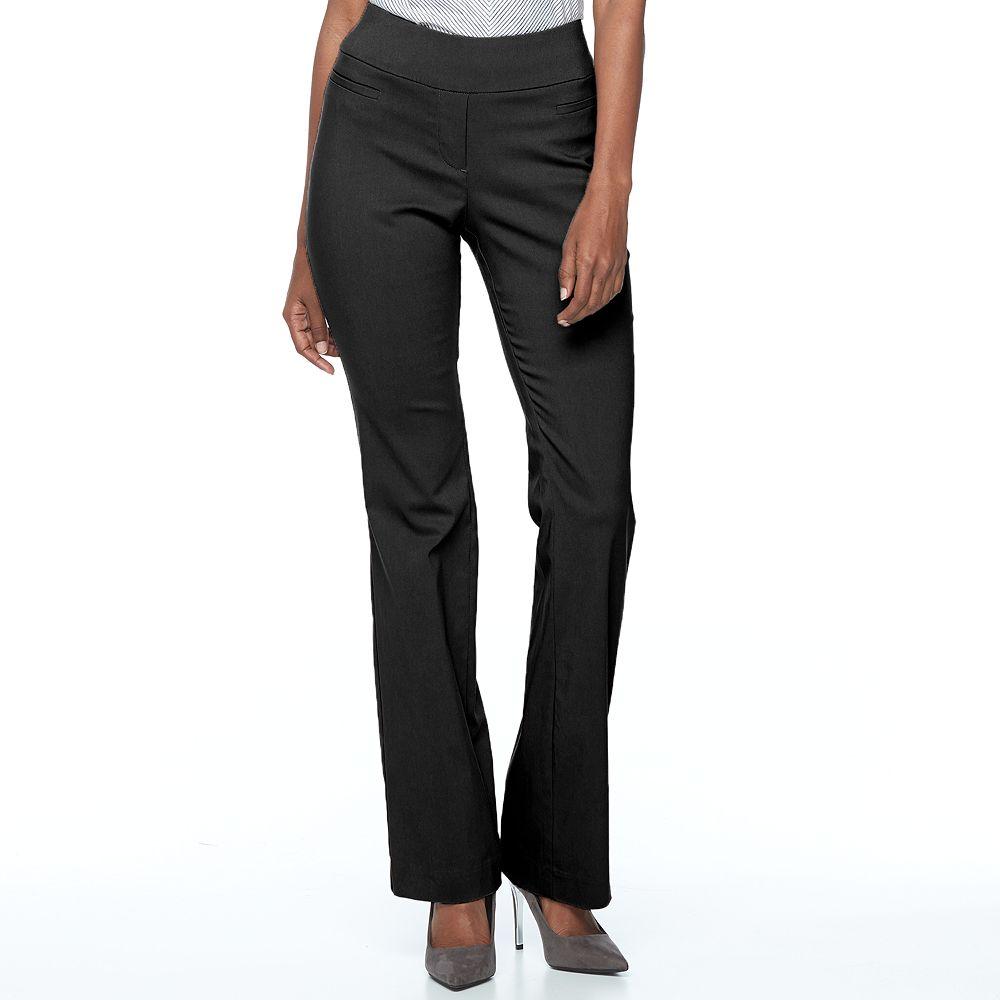 Apt. 9® Brynn Pull-On Bootcut Dress Pants