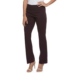 Women's Apt. 9® Brynn Midrise Pull-On Bootcut Dress Pants