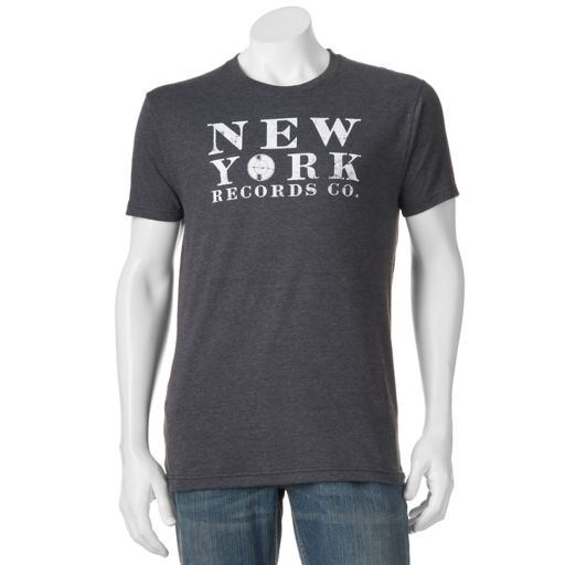 "Men's SONOMA Goods for Life™ ""New York Records Co."" Tee"