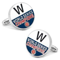 Chicago Cubs 2016 World Series Champions Cuff Links