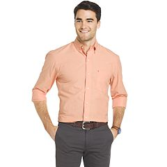 Big & Tall IZOD Essential Regular-Fit Button-Down Shirt