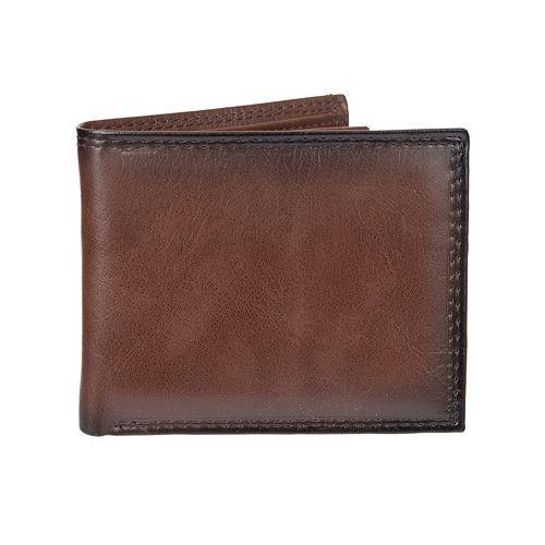 Men's Croft & Barrow® RFID-Blocking Extra-Capacity Slimfold Wallet