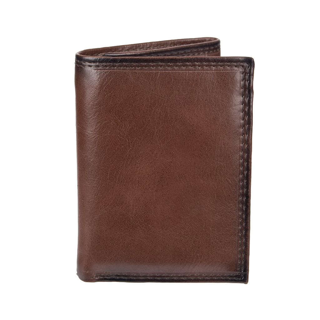 Men's Croft & Barrow® RFID-Blocking Zippered Trifold Wallet
