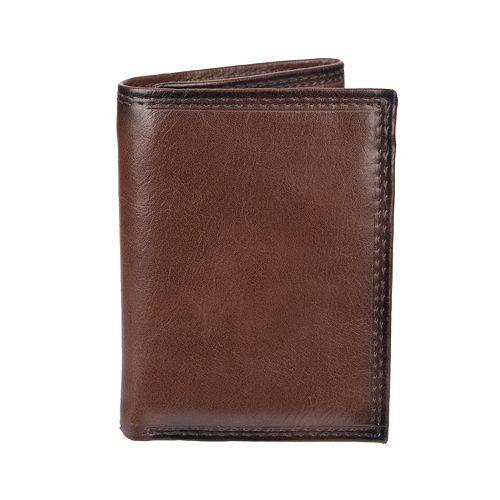 Men's Croft & Barrow® RFID-Blocking Zippered Trifold Wallet