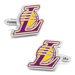 Los Angeles Lakers Cuff Links