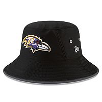 Adult New Era Baltimore Ravens Training Bucket Hat