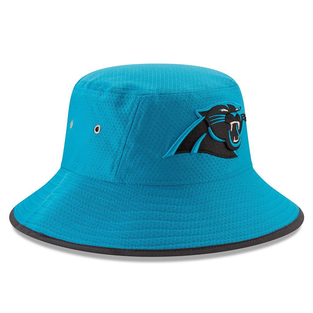 Adult New Era Carolina Panthers Training Bucket Hat