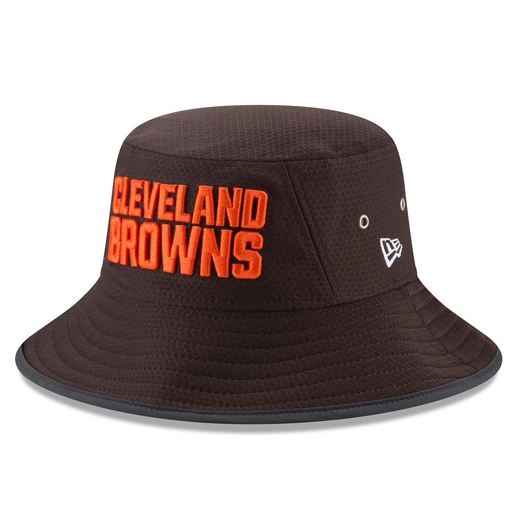 Adult New Era Cleveland Browns Training Bucket Hat