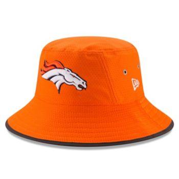 Adult New Era Denver Broncos Training Bucket Hat