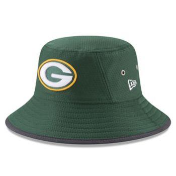 Adult New Era Green Bay Packers Training Bucket Hat
