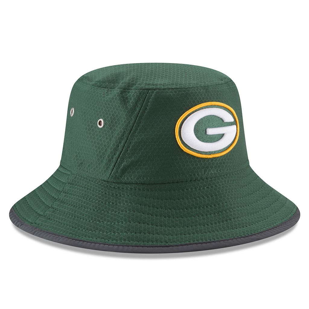Adult New Era Green Bay Packers Training Bucket Hat