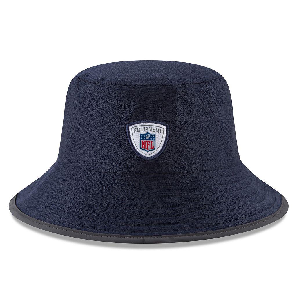 Adult New Era Houston Texans Training Bucket Hat