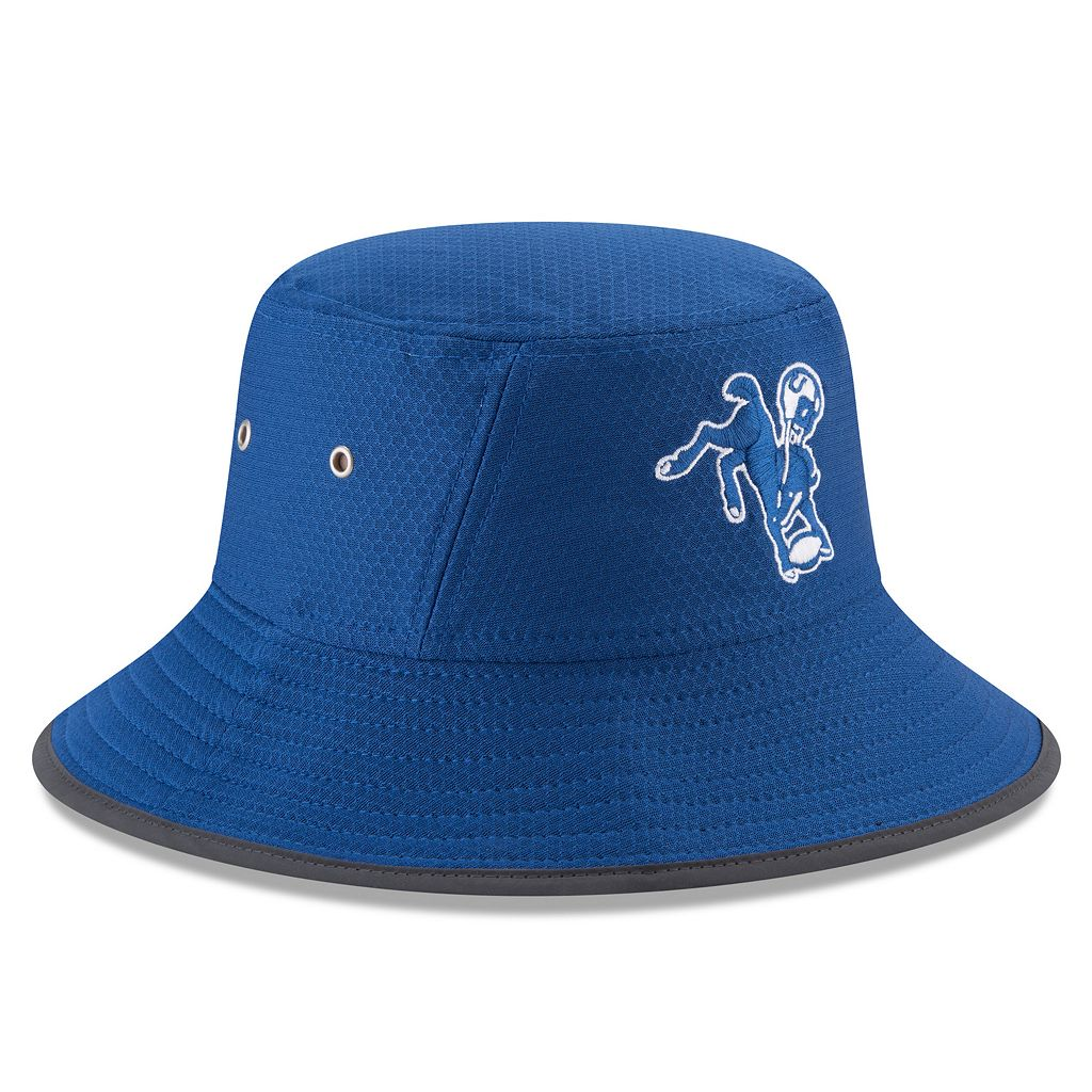 Adult New Era Indianapolis Colts Training Bucket Hat