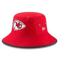 Adult New Era Kansas City Chiefs Training Bucket Hat