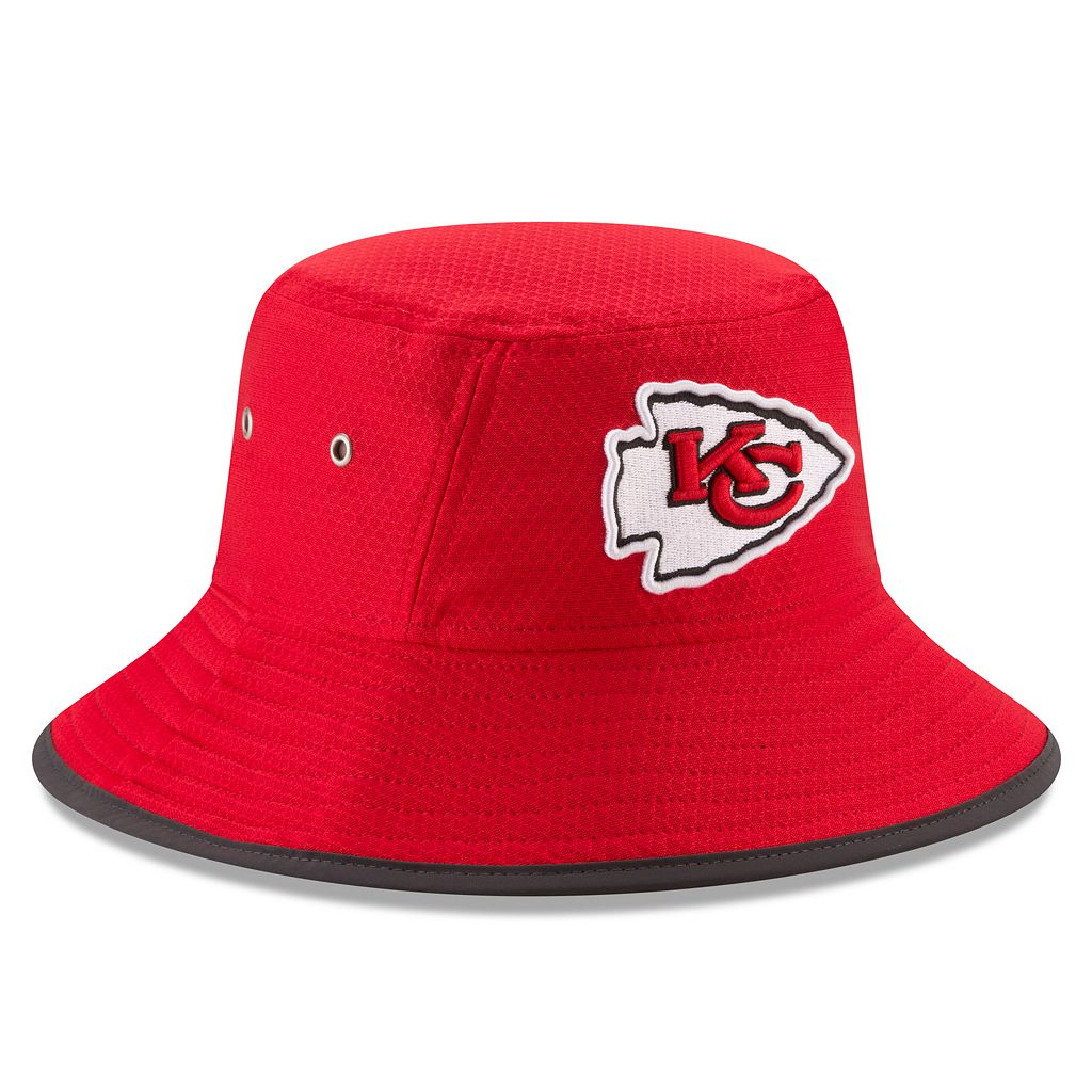 Adult New Era Kansas City Chiefs Training Bucket Hat