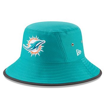 Adult New Era Miami Dolphins Training Bucket Hat