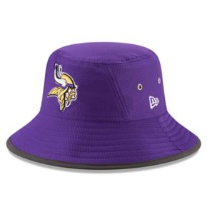 Adult New Era Minnesota Vikings Training Bucket Hat