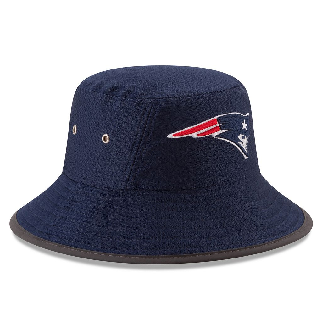 Adult New Era New England Patriots Training Bucket Hat