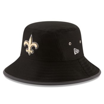 Adult New Era New Orleans Saints Training Bucket Hat