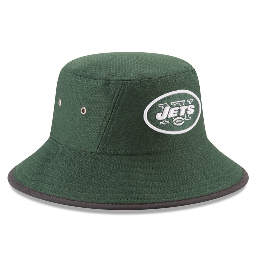 Adult New Era New York Jets Training Bucket Hat