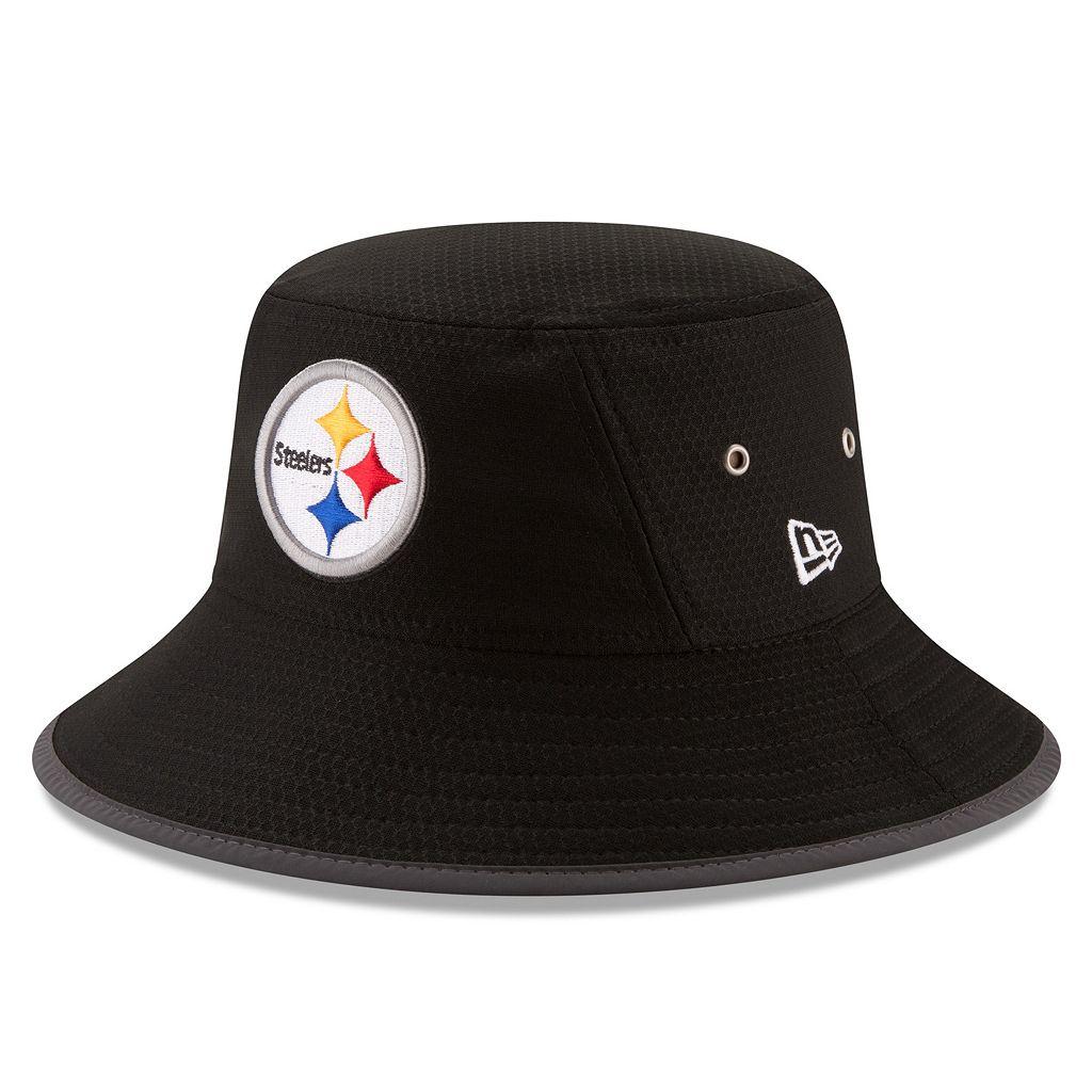 Adult New Era Pittsburgh Steelers Training Bucket Hat