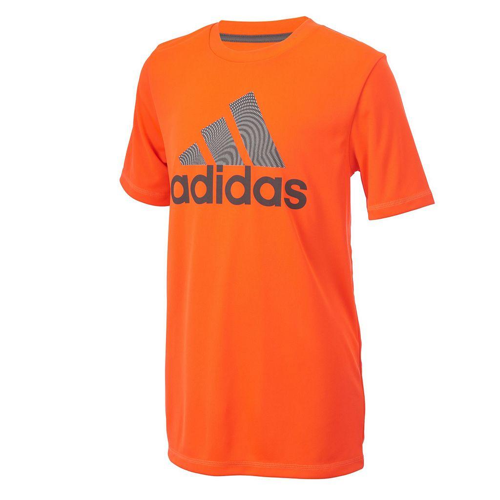 Boys 8-20 adidas Climalite Badge of Sport Tee