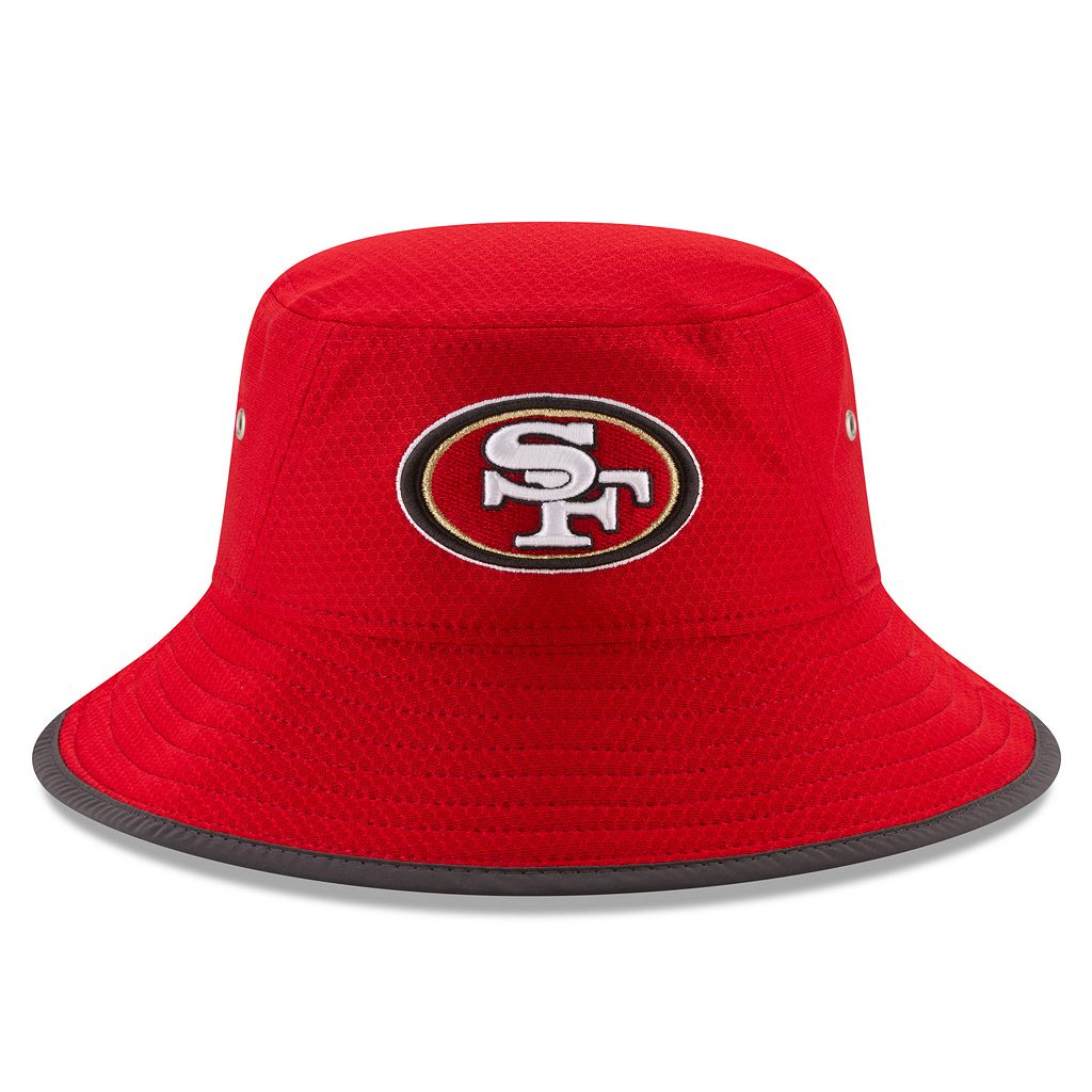 Adult New Era San Francisco 49ers Training Bucket Hat