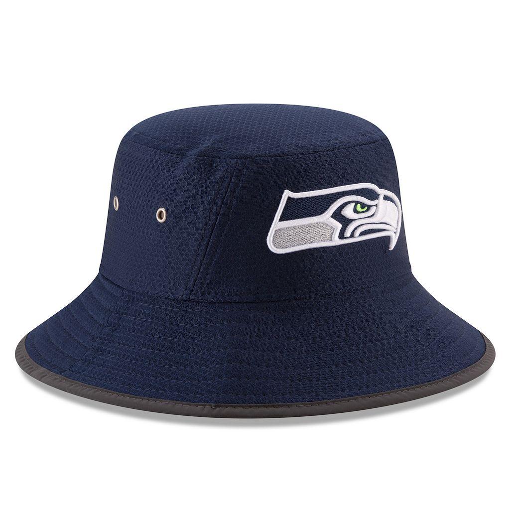 Adult New Era Seattle Seahawks Training Bucket Hat