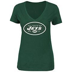 Women's Majestic New York Jets Legendary Look Tee