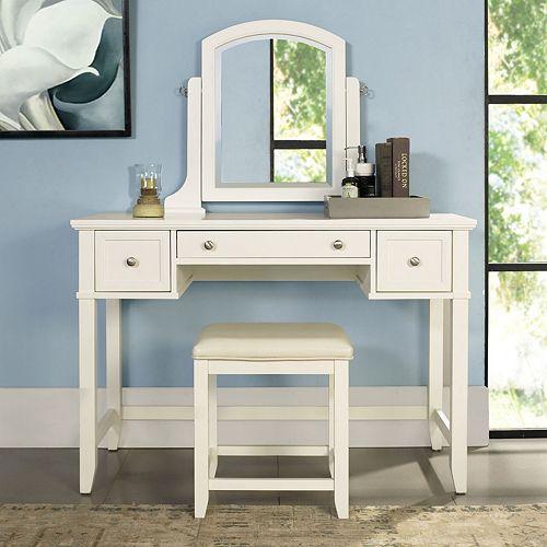 Pleasing Crosley Furniture Vista Vanity Stool 2 Piece Set Alphanode Cool Chair Designs And Ideas Alphanodeonline
