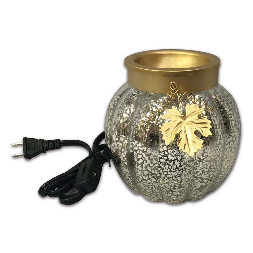 SONOMA Goods for Life™ Mercury Glass Pumpkin Wax Melt Warmer