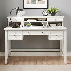 Crosley Furniture Adler Desk & Hutch 2-piece Set