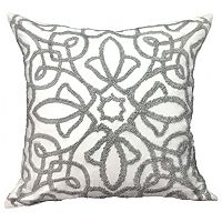 Boucle Feather Filled Throw Pillow