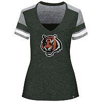 Women's Majestic Cincinnati Bengals Classic Moment Tee