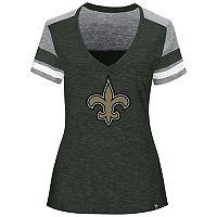 Women's Majestic New Orleans Saints Classic Moment Tee