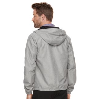 Men's Marc Anthony Luxe Slim-Fit Hooded Rain Jacket