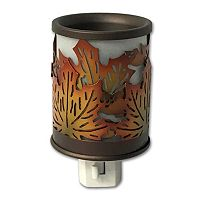 SONOMA Goods for Life™ Metal Leaf Outlet Wax Melt Warmer