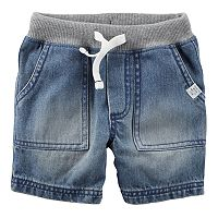 Baby Boy Carter's Drawstring Denim Shorts