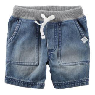 Baby Boy Carter's Drawstring Denim Shorts