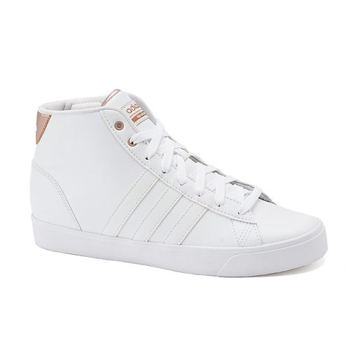 best service 0fbc7 09c5c adidas NEO Cloudfoam Daily QT Mid Womens Shoes