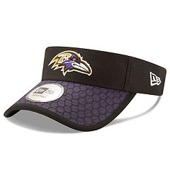 Adult New Era Baltimore Ravens Sideline Adjustable Visor