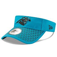 Adult New Era Carolina Panthers Sideline Adjustable Visor